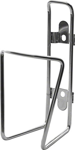 TwoFish Bolt-On Water Bottle Cage: Stainless, No Bottle Included