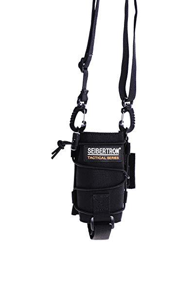 Seibertron Unisex Tactical Durable UV Resistant H2O Carrier/Bottle Holder MOLLE Compatible Water Bottle Pouch