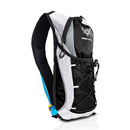 Water Buffalo Road Runner Hydration Backpack – 2L Hydration Pack And BPA Free Reservoir – Light, Hydration Pack With Purpose Built Storage For Running, Cycling,Mountain Biking And More