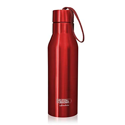 Landnics Stainless Steel Water Bottle, (25 ounce) Vacuum Double Wall Insulated Bottle 12 Hrs Hot, 24 Hrs Cold Travel Mug Sports Water Bottles for Running, Camping, Hiking, Cycling, Gym