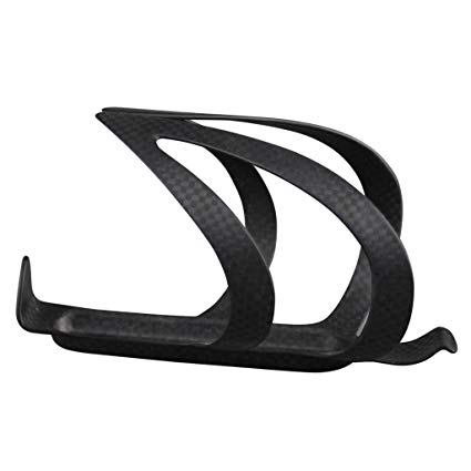 IMUST Carbon Fiber Water Bottle Cage Holder for Road Bicycle Mountain Bike