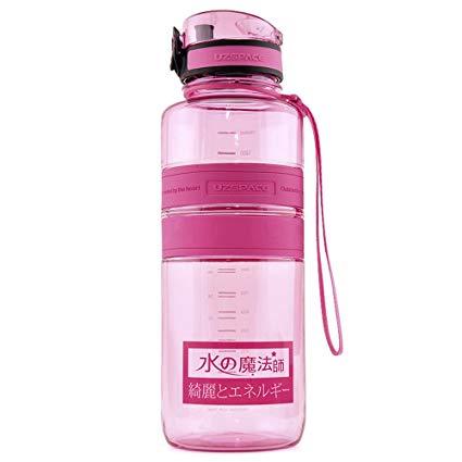 Uzspace Hydration Tritan BPA-free Sports Water Bottle