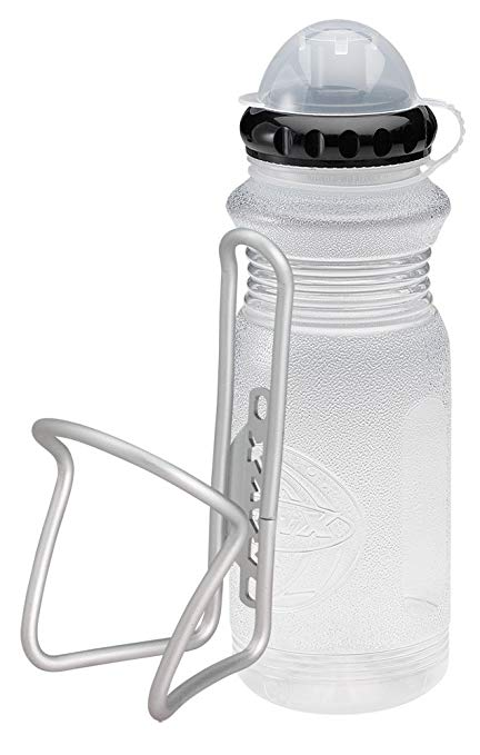 RavX Hydro X 1 - Belly X Matte Silver with Stream X Water Bottle