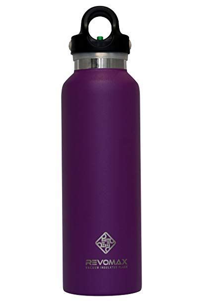 RevoMax Twist Free Insulated Stainless Steel Water Bottle with Standard Mouth