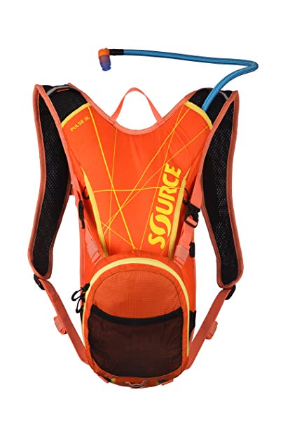 Source Outdoor Pulse Hydration System Pack with 1L Cargo Pouch