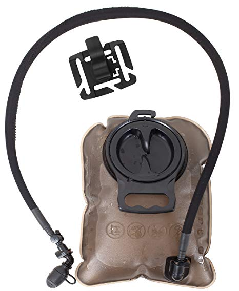 Seibertron Hydration Bladder 2.5 Liter Water Reservoir Water Bladder Hydration Pack Bladder FDA Approved Tasteless and BPA-Free TPU Material Large Opening Quick Release Tube and 2 Years Warranty